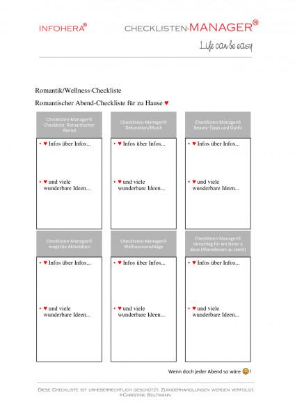 Achtsamkeits-Checkliste für Sie